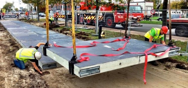 Holanda inaugura el primer tramo de la carretera solar