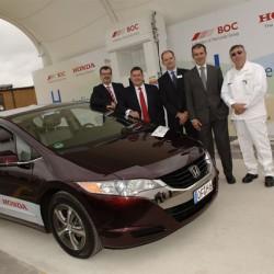 Honda abre en Inglaterra una estación que obtiene hidrógeno mediante energía solar