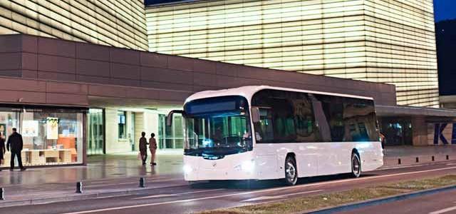 Madrid prueba el autobús eléctrico de Irizar