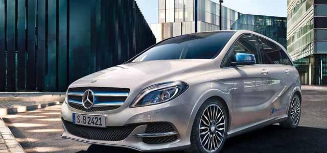 El Mercedes Clase B ED desde 39.151 euros en Alemania. Leasing desde 399 euros