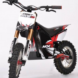 OSET MX-10. Una moto de enduro eléctrica