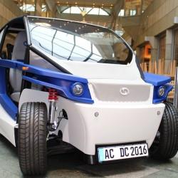StreetScooter C16. Un coche eléctrico fabricado por impresión 3D