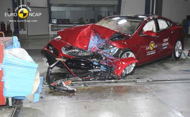 tesla model s crash test euroncap