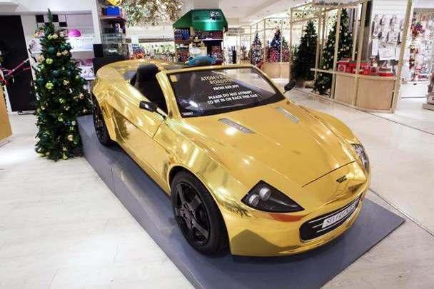 un regalo para estas navidades un coche el ctrico de juguete por unos m dicos euros. Black Bedroom Furniture Sets. Home Design Ideas