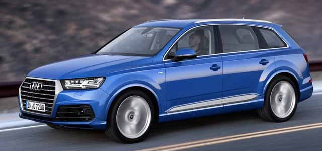 Audi Q7 e-tron quattro. El híbrido enchufable que consumirá 1.7 litros cada 100 kilómetros