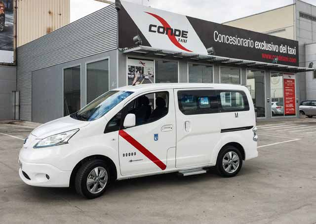 nissan e-NV200 taxi madrid