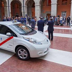 Los taxis eléctricos de Nissan superan los 367.000 kilómetros recorridos en España