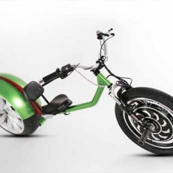 Chop-E. Posiblemente la bici eléctrica más molona del mundo