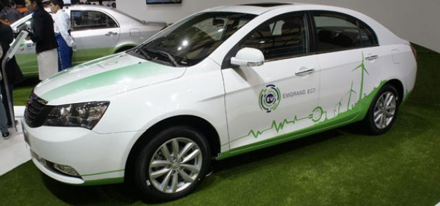 Geely EC7-EV. Un eléctrico chino que llegará este trimestre al mercado
