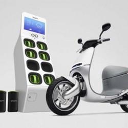Gogoro. Un interesante scooter eléctrico con batería extraible