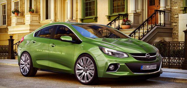Render del nuevo Opel Ampera