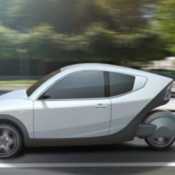 E-Car 333. Un coche eléctrico belga realmente interesante