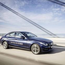 Se presenta el Mercedes C350 Plug-In. Lanzamiento este mes de marzo