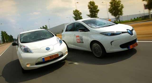 El Renault ZOE y el Nissan LEAF, entre los más recomendados para este 2015 en Inglaterra