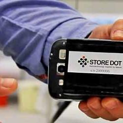 StoreDot. La batería capaz de recargarse en 5 minutos no llegará hasta 2022