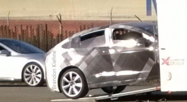 Cazado el Tesla Model X durante unas pruebas