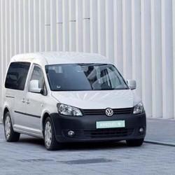 Una Volkswagen Caddy eléctrica con 350 kilómetros de autonomía