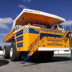 GVW BelAZ. El camión de carga más grande del mundo es eléctrico