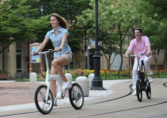 Mando-Footloose-is-World's-first-chainless-folding-electric-bike-2