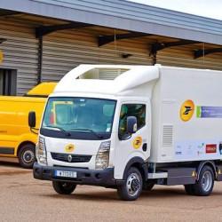 Renault y Symbio FCELL presentan un camión eléctrico dotado de extensor de autonomía a hidrógeno
