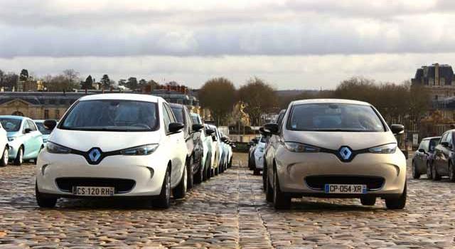 Las ventas de eléctricos en Francia crecen un 53% en marzo