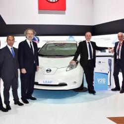 Nissan y Endesa firman un acuerdo para promocionar los sistemas V2G en Europa