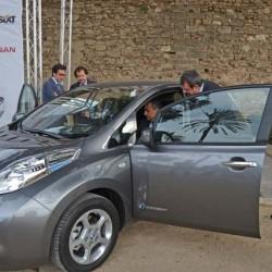 60 Nissan LEAF para las empresas de alquiler de coches de Baleares