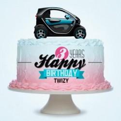 Feliz tercer cumpleaños Renault Twizy