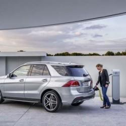 El Mercedes-Benz GLE 500 e 4MATIC llegará este otoño