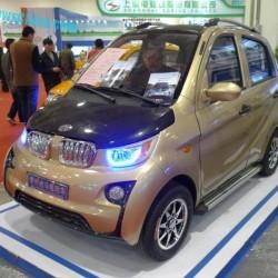 Jinma JMW2200. El primo chino del BMW i3