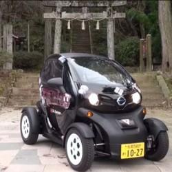 El Renault Twizy se pone a trabajar en el servicio de car sharing de Shikano, Japón