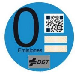 La DGT envía pegatinas identificativas para los coches eléctricos