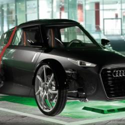 Audi trabaja en un sistema de recarga inalámbrica