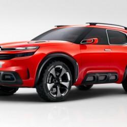 Citroën Aircross concept. El C4 Cactus se hace todocamino, e híbrido enchufable