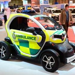 Nueva utilidad para el Renault Twizy: Ambulancia