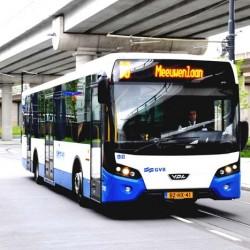 Amsterdam quiere sustituir todos sus autobuses por modelos eléctricos
