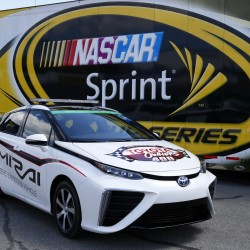 El Toyota Mirai, safety car de la NASCAR