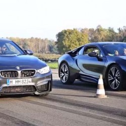 BMW i8 contra BMW M4