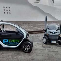 Ecars Rent A Car. alquila un Renault Twizy para visitar Tenerife