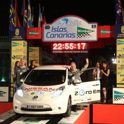 El Nissan LEAF gana el Eco Rallye Islas Canarias