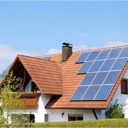 Coche eléctrico e instalación solar en modo isla