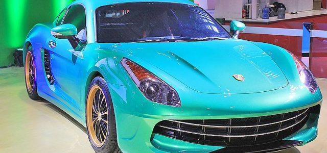 Suzhou Eagle Carrie. Mitad Ferrari, mitad Porsche, todo eléctrico