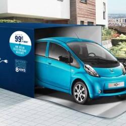 Peugeot iOn por 99 euros al mes, y de regalo una bicicleta eléctrica