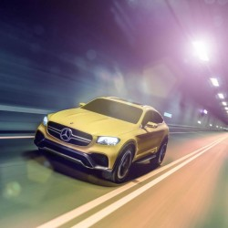 Mercedes GLC híbrido enchufable para 2016