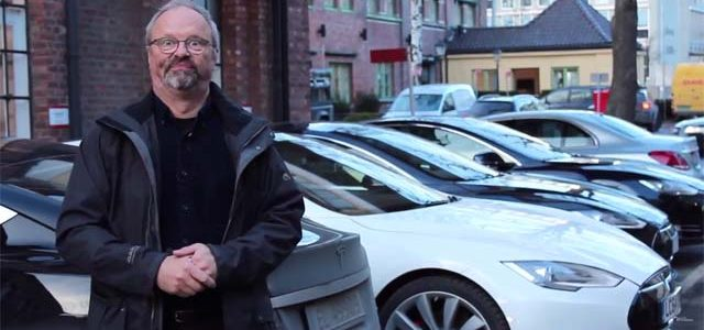 De Oslo a Londres por 5 euros en un Tesla Model S