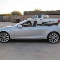 ¿Quieres un Tesla Model S descapotable? Pues hay uno disponible