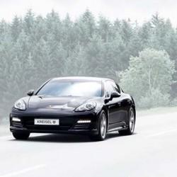 Porsche Panamera eléctrico de Kreisel. 490 CV, tracción a las 4 ruedas, 85 kWh de batería…