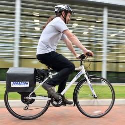 Una bicicleta eléctrica dotada de baterías de ion-sodio