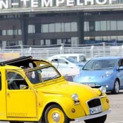 Berlín reune a 577 coches eléctricos. Récord del mundo para una concentración