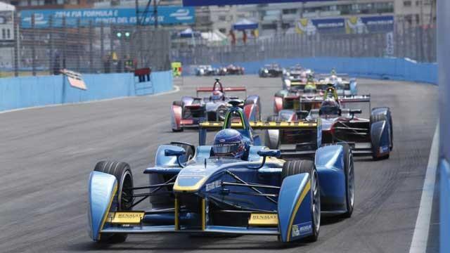 Formula-E-cars